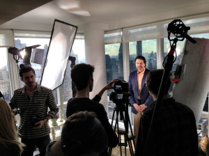 3RD HOME CEO Wade Shealy recently shot a digital video for his company website in New York City.